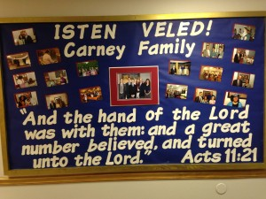 Sending Off of Carney Family
